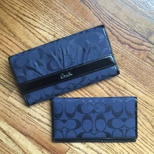 Coach Wallet and Checkbook Cover